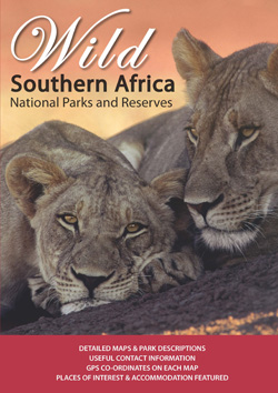 Natuurgids en atlas WILD Zuidelijk Afrika - Southern Africa: National Parks and Reserves   Mapstudio