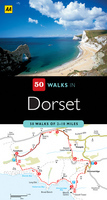 Wandelgids 50 Walks in Dorset : AA Publishing :