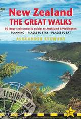 Reisgids - wandelgids - New Zealand The great walks - Nieuw Zeeland : Trailblazer :