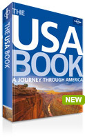 Fotoboek - The USA Book: A Journey through America - Verenigde Staten : Lonely Planet :