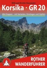 Wandelgids Korsika GR20 - Corsica   Rother verlag