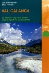 Wandelgids Val Calanca S�dalpental   Rotpunktverlag