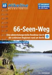 Wandelgids Wanderf�hrer 66-Seen-Weg    Hikeline