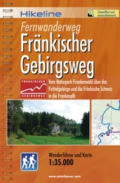 Wandelgids Fernwanderweg Fr�nkischer Gebirgsweg   Hikeline