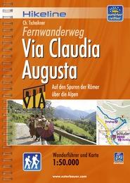 Wandelgids Fernwanderweg Via Claudia Augusta   Hikeline