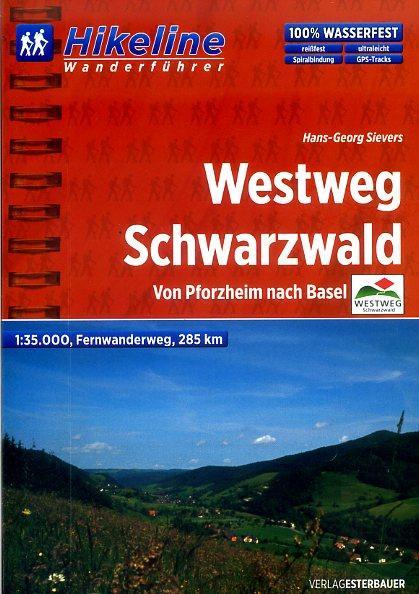 Wandelgids Fernwanderweg Westweg Schwarzwald   Hikeline