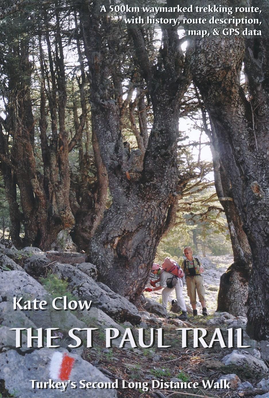 Wandelgids St. Paul Trail - Turkije   Kate Clow