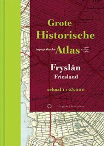 Grote Historische topografische atlas Friesland   Nieuwland