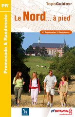 Wandelgids D059 Nord a Pied - Noord Frankrijk   FFRP Randonnee