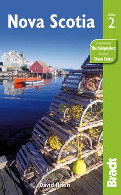 Reisgids Nova Scotia (Canada oost)   Bradt   David Orkin