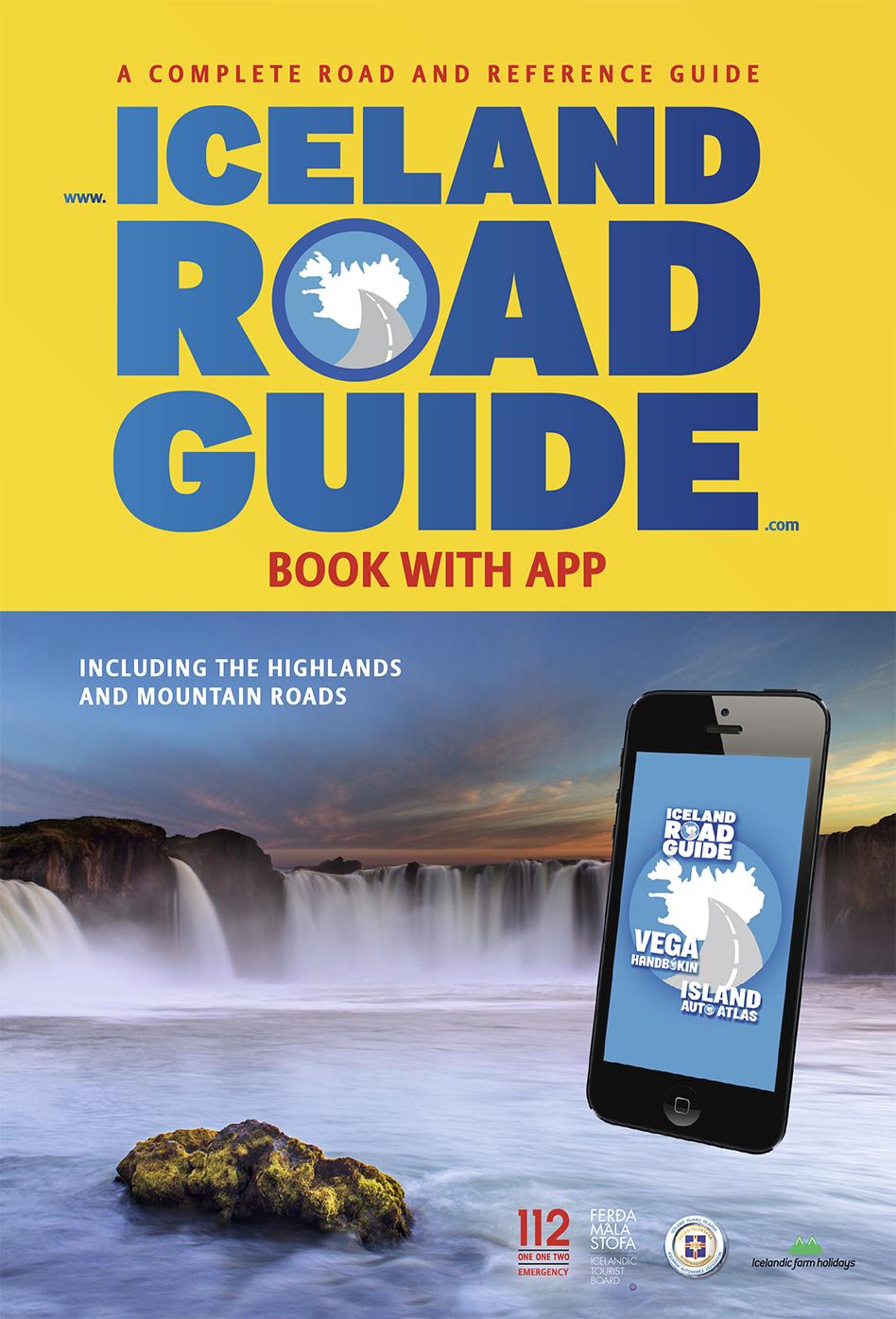 Reisgids Iceland Road Guide   Vegahandbokin