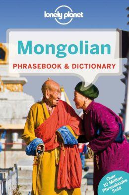 Woordenboek Taalgids Mongolian phrasebook - Mongools   Lonely Planet