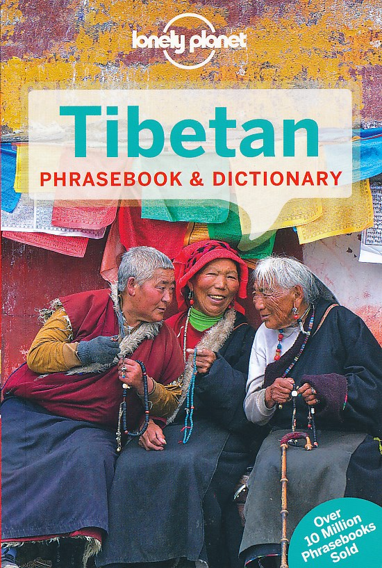 Woordenboek Taalgids Tibetan phrasebook - Tibetaans   Lonely Planet