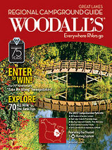 Campergids - Camperplaatsen - Campinggids Great Lakes - Grote Meren USA 2011 Campground Guide : Woodall's :