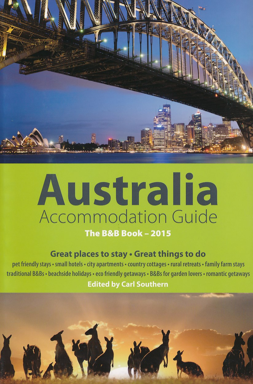 Bed & Breakfast Gids Australië  - Australian Bed & Breakfast guide book 2015   BBBook