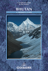 Cicerone wandelgids Bhutan - a trekker's guide