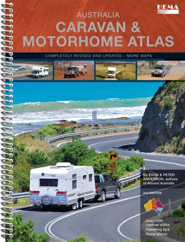 Wegenatlas Australia Caravan & Motorhome Atlas (Australie Camper en Caravan Atlas)   HEMA