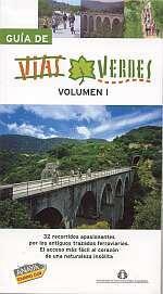 Fietsgids Spanje - Guia de Vias Verdes volume 1   Anaya - FFE