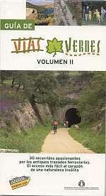 Fietsgids Spanje - Guia de Vias Verdes volume 2   Anaya - FFE