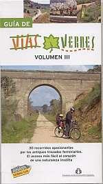 Fietsgids Spanje - Guia de Vias Verdes volume 3   Anaya - FFE