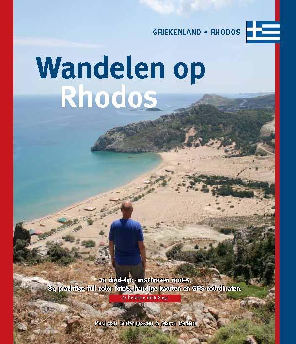 Wandelgids Wandelen op Rhodos   One Day Walks Publishing