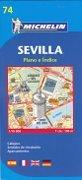 Stadsplattegrond - landkaart Sevilla   Michelin 74