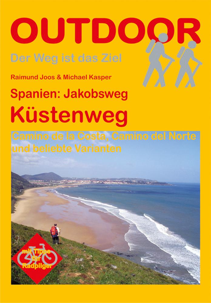 Wandelgids 71 Spanien: Jakobsweg - Küstenweg   Conrad Stein verlag