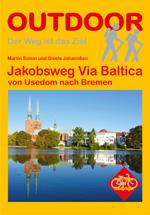 Wandelgids Jakobsweg Via Baltica - Duitsland   Conrad Stein Verlag