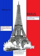 Reisgids Hasse in Parijs, reisboek voor kids