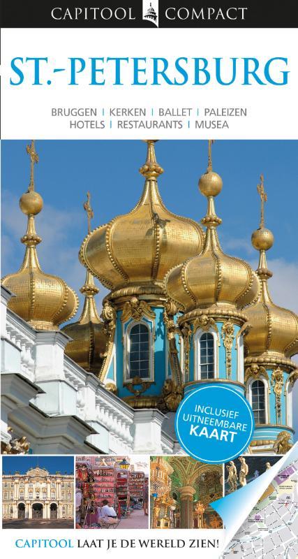 Reisgids Capitool compact St- Petersburg - Sint Petersburg   Capitool