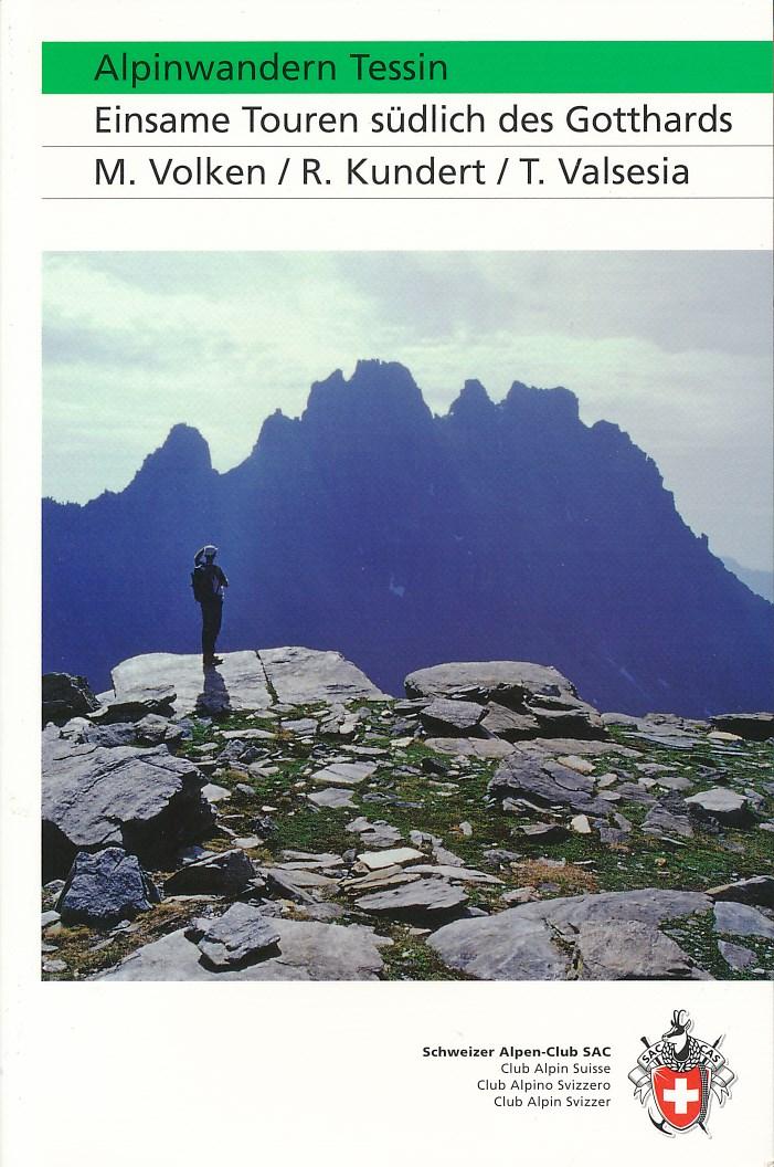 Wandelgids Alpinwandern Tessin   Schweizer Alpen-Clup