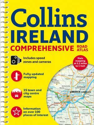 Wegenatlas Ireland Comprehensive Road Atlas   Collins