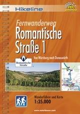 Wandelgids Romantische Strasse 1 Von W�rzburg nach Donauw�rth   Hikeline