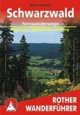 Wandelgids Fernwanderwege Schwarzwald (Zwarte Woud)  Westweg � Mittelweg � Ostweg    Rother