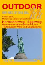 Wandelgids Hermannsweg - Eggeweg: �ber die Hermannsh�hen durch Teutoburger Wald und Eggegebirge   Conrad Stein
