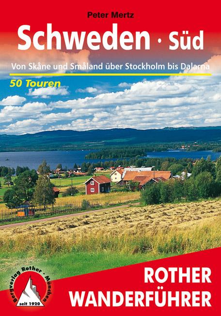 Wandelgids Zweden Schweden Süd    Rother