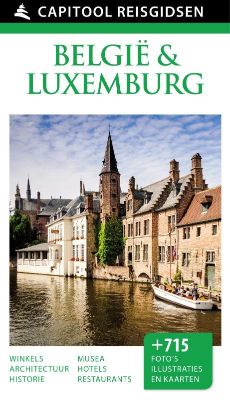 Reisgids Capitool België & Luxemburg   Capitool - Unieboek
