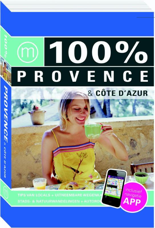 Reisgids 100% Provence & Cote d'Azur   Mo Media