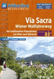 Wandelgids Fernwanderweg Via Sacra - Wiener Wallfahrerweg   Hikeline