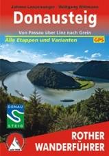 Wandelgids Donausteig von Passau über Linz nach Grein   Rother verlag