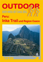 Wandelgids Peru: Inka Trail - Inca pad   Conrad Stein