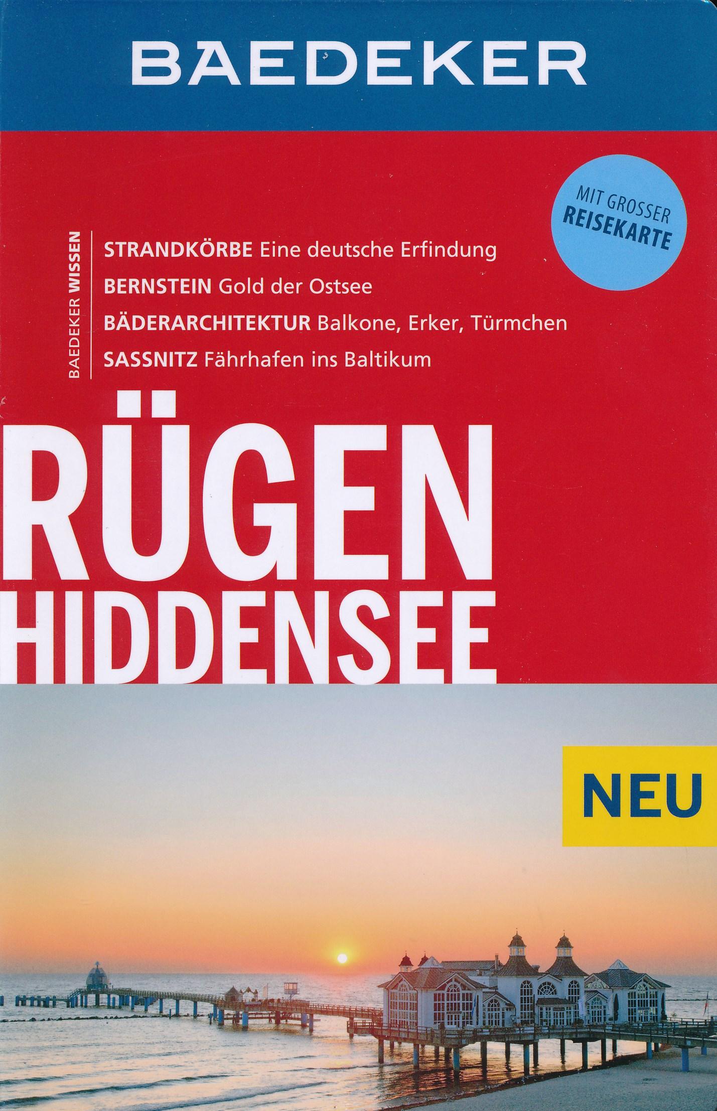 Reisgids Baedeker R�gen, Hiddensee   Baedeker Allianz Reisef�hrer