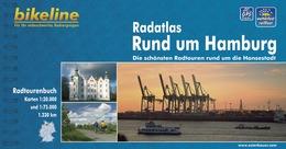 Fietsgids Radatlas Rund um Hamburg    Bikeline - Esterbauer