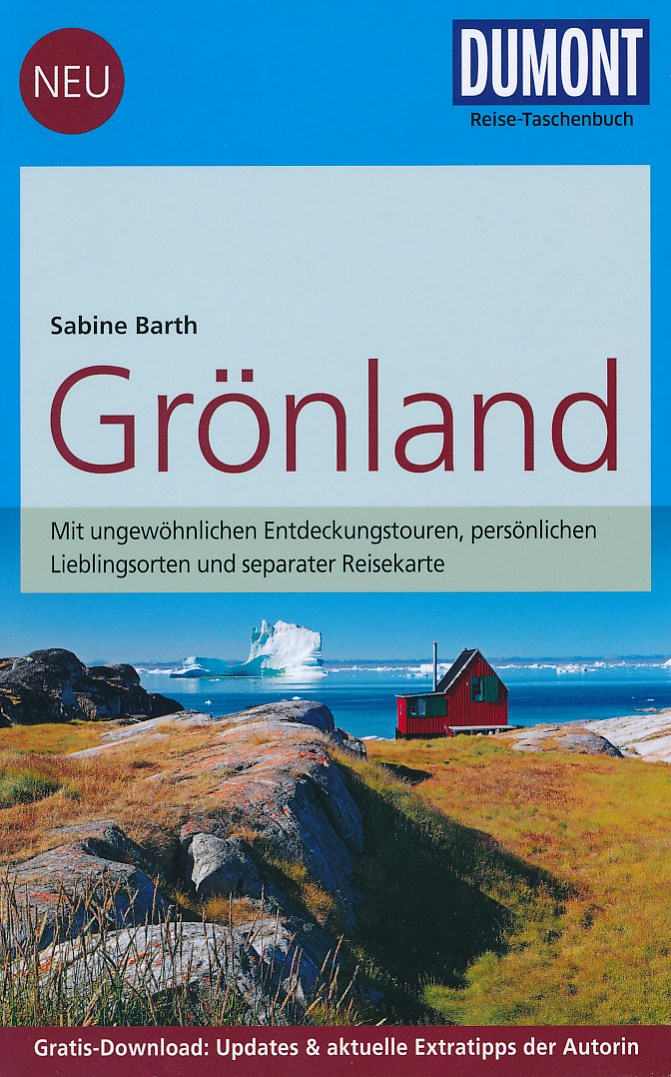Reisgids Groenland - ReiseTascheBuch Grönland  Mit 10 Entdeckungstouren   Dumont