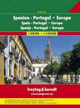 Wegenatlas Spanje - Portugal, Superatlas Spanien - Portugal   Freytag und Berndt