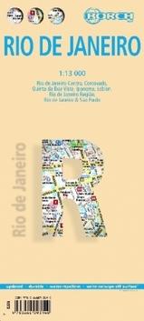 Plattegrond Rio de Janeiro   Borch Maps