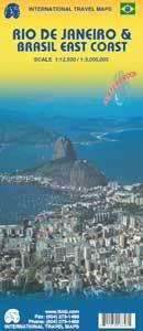 Plattegrond Rio de Janeiro & Brasil East Coast   ITMB