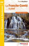 Wandelgids Jura -  La Franche-Comté... à pied   FFRP
